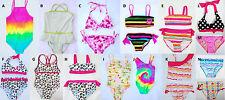 NWT Girls Baby Toddler Pink Platinum Swim Bathing Suit Bikini Tankini One Piece
