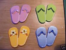 Flip Flops Flipflop Sandles Sandles Foot Feet Summer Holiday Die Cuts