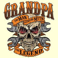 Grandpa - The Man Myth Legend T Shirt  You Choose Style, Size, Color 10547