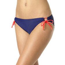 Arizona Peek-A-Boo Sweet Pea Side-Tie Hipster Swim Bottom Size S, L, XL Msrp $32