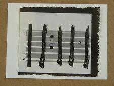 G / Hecho A Mano tarjeta de saludos W Tema Musical Guitarra Chord forma un gran +9, Ripped