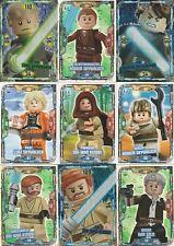 Lego Star Wars trading cards serie 1 todas las tarjetas 252 para elegir