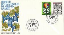 Nazioni UNITE 1980 35th ANNIVERSARIO PRIMO GIORNO DI COPERTURA Vienna SHS