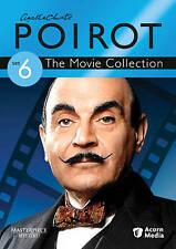 Agatha Christies Poirot: The Movie Collection - Set 6 (DVD, 2011, 3-Disc Set)