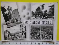 SAN SEVERINO MARCHE- VEDUTE ED INTERNI DEL PAESE- VIAGGIATA- 277