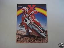 advertising Pubblicità 1981 AXO e M. RINALDI