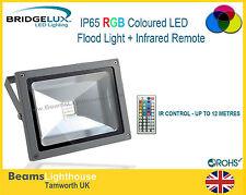 OUTDOOR IP65 IMPERMEABILE COB RGB A LED CAMBIA COLORE RIFLE 10W DA 20W 30W 50W