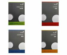 SILVINE A4 ACCOUNTS BOOK KEEPING CASH/JOURNAL/ANALYSIS/LEDGER