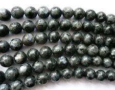 Ukcheapest-Larvikite Ronde & à facettes 4 6 8 10 mm pierres précieuses perles Gris Labradorite