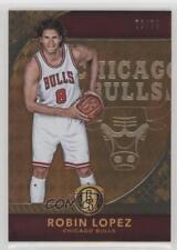 2016-17 Panini Gold Standard AU #117 Robin Lopez Chicago Bulls Basketball Card
