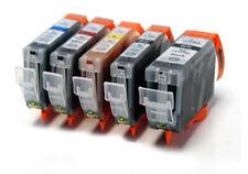 PGI-525 / CLI-526 - 5 Compatibile Stampante Cartucce Di Inchiostro pg1-525 / cl1-526