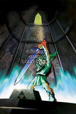 RGC Huge Poster - Legend of Zelda Ocarina of Time 3D N64 Nintendo 3DS - ZELO06
