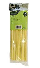 "14"" (350mm) x 5mm Round Premium Bamboo Skewer Twister Fries Chipstick BLUNT END"