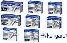 Kangaro Heavy Duty Cucitrice Staples 23/6, 23/8, 23/10, 23/13, 23/15, 23/17, 23/2023/24