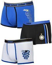 Boxer Uomo Inter Fc Internazionale, Abbigliamento Intimo Calcio Ufficiale PS 149