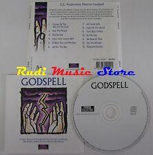 CD GODSPELL MUSICA GOSPEL 1996 MUSICAL COLLECTION EEC NO lp mc dvd vhs
