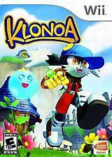 Klonoa (Nintendo Wii, 2009) Brand New Factory Sealed