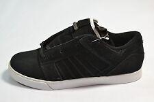 Supra MUSKA SKY LOW Black Suede Skate Sneaker Discounted (116) Men's Shoes