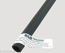 "1/2"" 12.0mm ID X 4 Ft 3:1Ratio Black Dual Wall Adhesive Lined Heat Shrink Tubing"