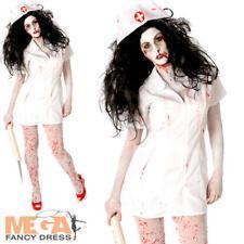 PSYCHO Zombie-Infermiera Donna Costume Da Donna Adulti Costume Di Halloween Horror