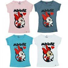 Minnie Maus Mouse Kinder T- Shirt 116 128 140 152 TOP Qualität Sommer disney