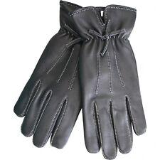 Señora guantes de cuero guantes lammnappa Echt Leder cordero-Napa negro