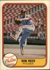 1981 Fleer Baseball Card Pick 1-527