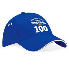 100th Birthday Gift Present Idea For Men Women Ladies Dad Mum Happy 100 Hat