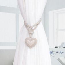 Cute Love Curtain Buckle Holder Tieback Clips Home Window Accessories New FI