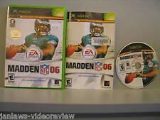 Madden NFL 06 (Xbox) *PrePlayed
