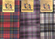 Scarf Clan MacPherson Tartan Scottish Wool Plaid