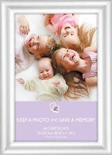 A4 Silber Zertifikat Foto Bilder Rahmen x 12 Großhandel