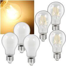 3 Stück Led Leuchtmittel E27 DIMMBAR 540/1200lm warmweiß Glüh-Lampe Glühbirne