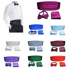 Lot nœud papillon pour hommes cummerbund Pochette de Costume d'affaires mariage