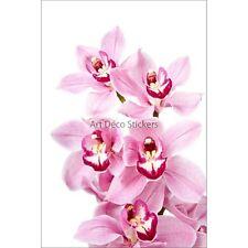 Pegatinas nevera decoración Orquídea 60x90cm ref 6232
