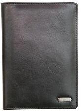 Pasaporte de cuero de Bloqueo de RFID Felda cubrir titular cartera de viaje con tarjeta de crédito