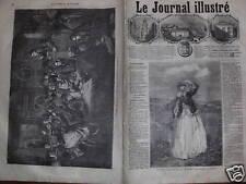 LE JOURNAL ILLUSTRE 1866 N 111 TABLEAUX et DESSINS