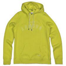 Under Armour Femmes Chaud up Logo Capuche sweatshirt ua Loose Fit Jaune