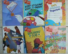 6 Scott Foresman Celebrate Reading Project Books,gr.2/2nd NIP! 2A-2F FUN