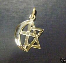MONOTEISMO TRE RELIGIONI UN SOLO DIO ciondolo argento
