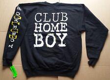Official Club Homeboy Black Crew Sweat skateboard bmx street surf sweater shirt