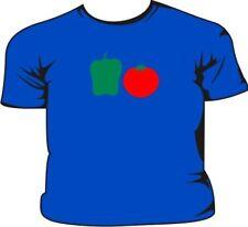 Poivron vert T-shirt pour enfant rouge tomate