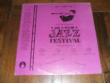 1973 Manassas All Star Jazz Festival SEALED LP Blues Tex Wyndham & various M-