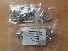 Aderendhülsen 0,5mm² bis 16mm² unisoliert nach DIN 46228 *Neu*