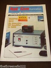 RADCOM - RADIO COMMUNICATION - HF AMP TO BUILD - FEB 1993