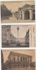13225- Vicenza 3 cartoline fp vg 19.1/1910