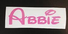 Adesivo Personalizzato Nome Etichetta Per appendiabiti HANGER Peg Bambini Scuola/Sport/Palestra