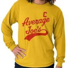 Average Joe Dodgeball Gift Funny Sports Sporting Goods Cool Long Sleeve T Shirt