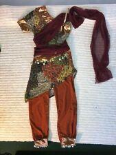 Da Uomo Bandito Arabo Costume Bollywood Genie Adulti Sinbad Costume Vestito