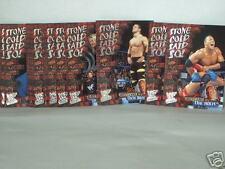 Stone Cold Said So! 2001 Fleer WWF Entertainment partial set